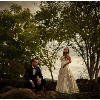 Trash The Dress en el Manto Nayarit - Mayte y Leo